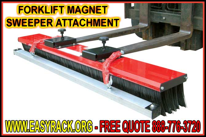 Discount Forklift Magnetic Sweeper Attachment For Sale Manufacturer Direct Prices Guarantees Lowest Prices