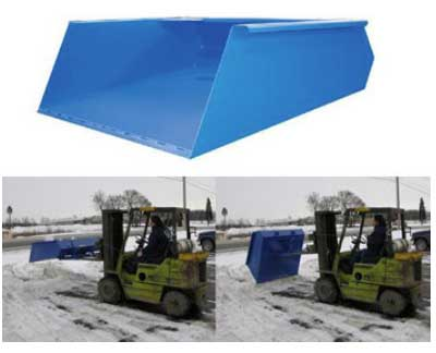 Discount Forklift Snow Removal Forklift Attachment For Sale Factory Direct Guarantees Lowest Price Made In USA