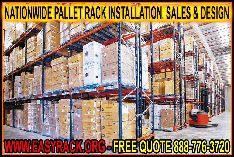 Custom Designed Pallet Rack Sales, Installation & Removal