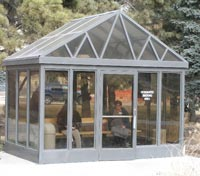 Aluminum Smoking Shelter