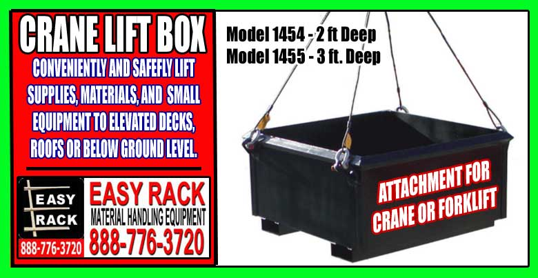 Crane Lift Box Attachment For Sale At Discount Prices.