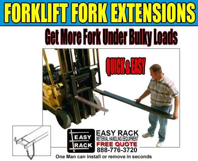 Forklift Fork Extensions For Sale