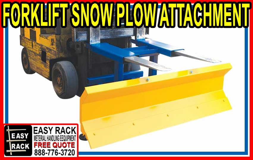 Forklif Snow Plow Attachment For Sale