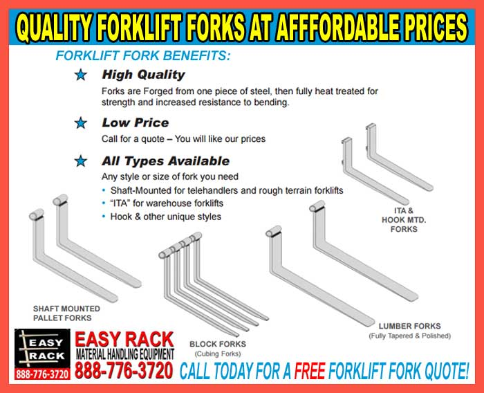 Heavy Duty Forklift Forks For Sale