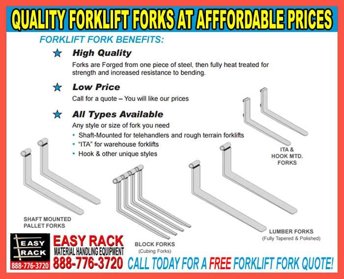 Heavy Duty Forklift Forks For Sale
