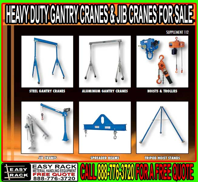 Gantry & Jib Cranes For Sale