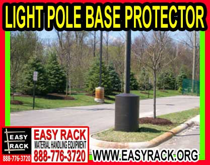 Light Pole Base Protector
