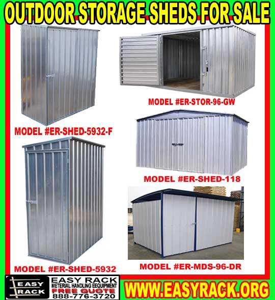 Outdoor Metal Storage Sheds On Sale Now!