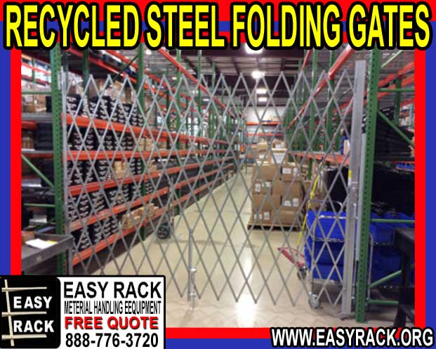 Recycled Metal Folding Gates For :Sale Near Me