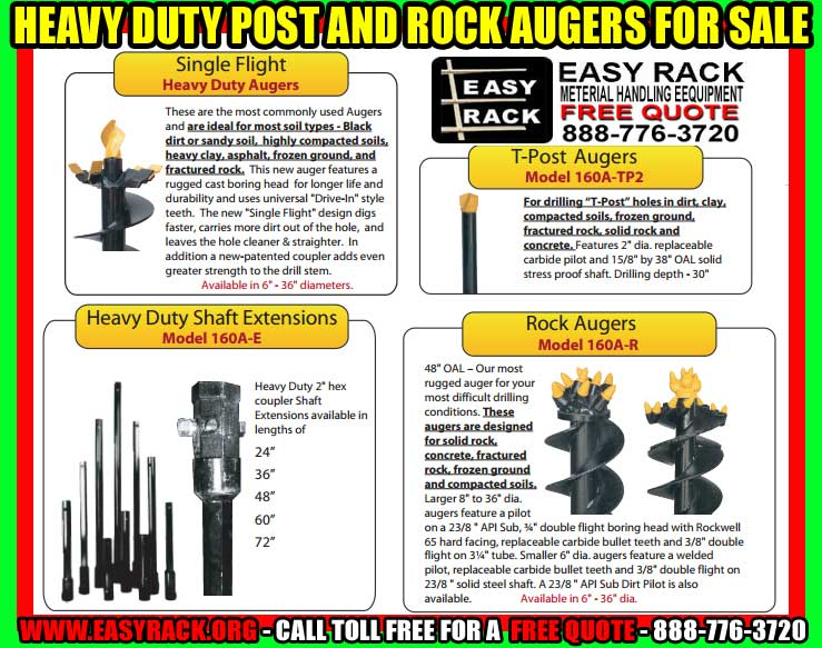 Post & Rock Augers Are On Sale Now