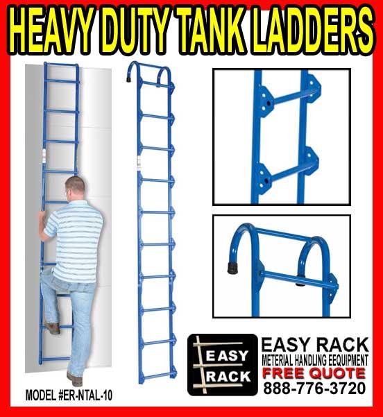 Heavy-Duty Storage Tank Ladders For Sale