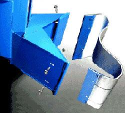 drum forklift attachments material handling equipment product information fork carriage. Black Bedroom Furniture Sets. Home Design Ideas