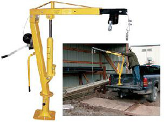 Winch Operated Truck Jib Crane (Extended)