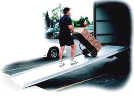 Aluminum Truck Loading Ramps Commercial & Industrial Sales