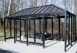 Aluminum Bicycle Shelter
