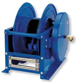 Most automatic hose reels are designed to mount on the ceiling or the floor.  Some applications, however, require compact, side mount hose reels that can easily install and detach from a number of work environments.
