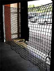 Warehouse Door Barrier Netting A Great Loss Prenvention Solution