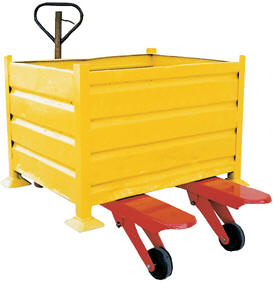 Big wheel pallet truck is a vital piece of material handling equipment