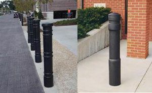 "Decorative Bollard Covers for 6"" to 6 5/8"" Pipe Diameters"