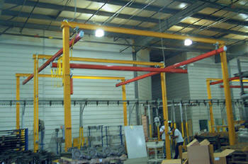 Industrial Gantry Cranes & Portable Commercial Jib Crane