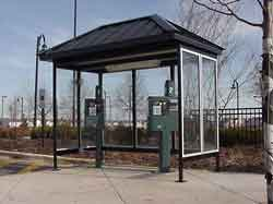 If you are offering some form of public transportation system such as a bus network, however limited, it is practically essential that you also provide school bus stop shelters for passengers to use while they are waiting for the service