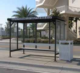 Once you have selected the best possible style of shelter, the next phase of choosing the right bus shelter for your needs is to examine what kind of accessories you deem necessary.