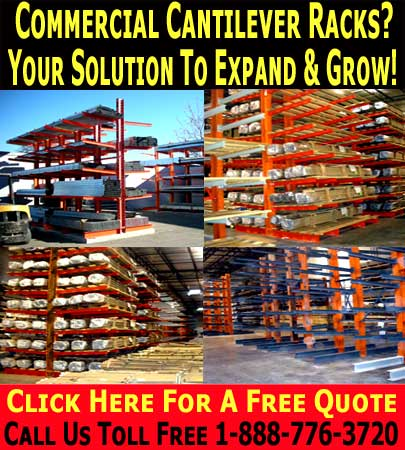 Commercial Cantilever Shelving Systems Your Solution To Grow