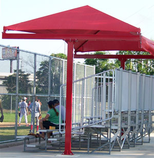 The commercial and residential applications of shade structures are unlimited.