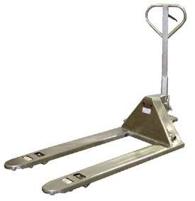 Chrome, Galvanized, Zinc and Plated Pallet Jacks