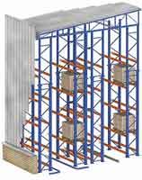 Clad-Rack Bulk Storage Warehouses