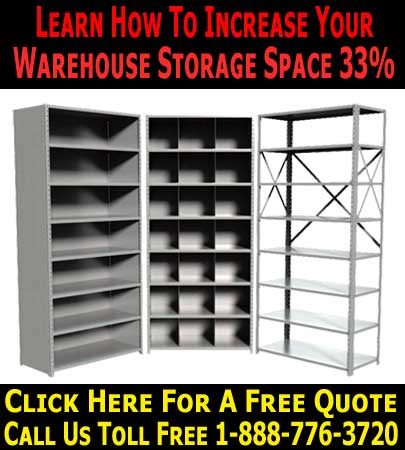 Industrial & Commercial Heavy Duty Warehouse Shelving Systems