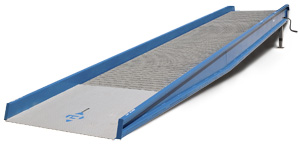 There are also dock loading ramps that can be supported by the back of the truck and allow you to load the truck using a pallet jack or forklift.
