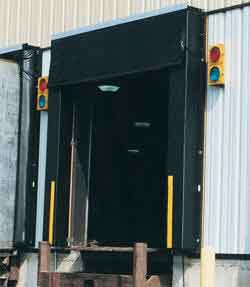 There are numerous pieces of loading dock equipment dedicated to keeping the dock dry, but the most effective item is a dock seal.