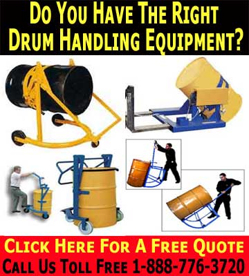 Drum Handling Equipment Can Save You Time & Money