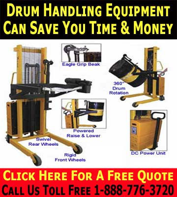 Drum Lifting Equipment Can Save You Time & Money