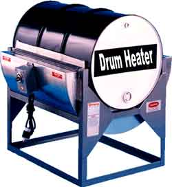There are numerous different reasons why you need to use a 55 gallon drum heater in your work place.  Many of the materials that you will use on a day to day basis can be too thick to make use of at the temperature that they are stored at, and heat is needed to thin them down.