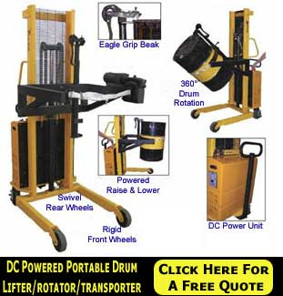 Industrial & Commercial Drum Lifting Equipment