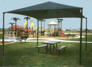 Fabric shade structures play a vital role in reducing skin cancer rates by reducing exposure to ultraviolet radiation by up to 95 percent.