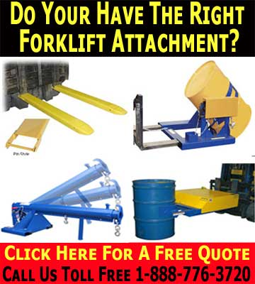 Qulity Fork Lift Attachments, Sales And Accessories