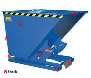 Fork Lift Mounted Dumper
