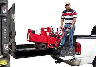 Forklifts attachments are OSHA compliant heavy construction equipment that transforms forklifts into loading platforms