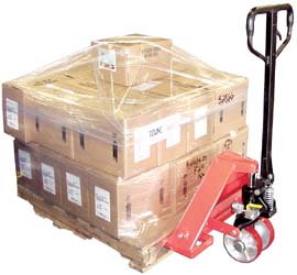 Freight Saver Pallet Truck With Analog Scale
