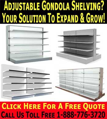 Retail Grocery Store Shelving Used Gondola Shelves
