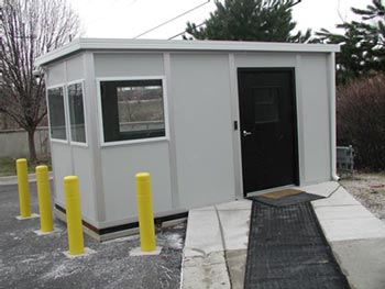 Different sizes of prefabricated shelter are available to meet the needs that you have in mind.  The shelters are designed to be modular in construction, and as such can be adapted for whatever purpose you require them for.