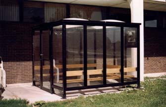 The main advantage of choosing steel shelters for your needs is that they offer such a permanent solution.