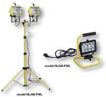 Halogen work lights for loding docks for commercial & industrial loading dock lights