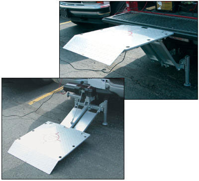 Adjustable Hitch Receiver >> Lifts - Material Handling Equipment Product Information - Hitch Lift