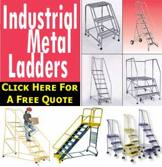 Steel, Step & Warehouse Industrial Ladders