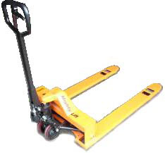 Yellow Low Profile Pallet Jack For Sale