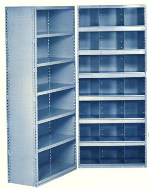 20 Gauge 10 Closed Steel Shelving Unit.